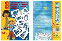 Набор трафареты MALINOS для девочек 8 шт (набор L) 30074