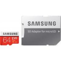 Карта памяти Samsung 64GB microSDXC class 10 UHS-I U1 Evo Plus V2 (MB-MC64HA/RU). 44733