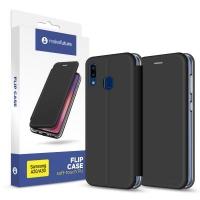 Чехол для моб. телефона MakeFuture Flip Case (Soft-Touch PU) Samsung A20/A30 Black (MCP-SA205BK). 45144