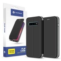 Чехол для моб. телефона MakeFuture Flip Case (Soft-Touch PU) Samsung S10 Plus Black (MCP-SS10PBK). 45146