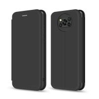Чехол для моб. телефона MakeFuture Xiaomi Poco X3 Flip (Soft-Touch PU) Black (MCP-XPX3BK). 45206