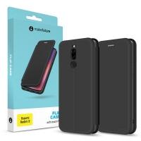 Чехол для моб. телефона MakeFuture Xiaomi Redmi 8 Flip (Soft-Touch PU) Black (MCP-XR8BK). 45207