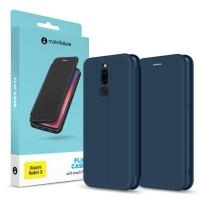 Чехол для моб. телефона MakeFuture Xiaomi Redmi 8 Flip (Soft-Touch PU) Blue (MCP-XR8BL). 45208