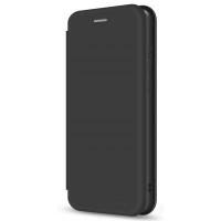 Чехол для моб. телефона MakeFuture Xiaomi Redmi 9 Flip (Soft-Touch PU) Black (MCP-XR9BK). 45210