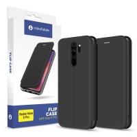Чехол для моб. телефона MakeFuture Flip Case (Soft-touch PU) Xiaomi Redmi Note 8 Pro Black (MCP-XRN8PBK). 45147