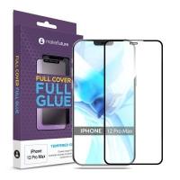 Стекло защитное MakeFuture Apple iPhone 12 Pro Max Full Cover Full Glue (MGF-AI12PM). 45012