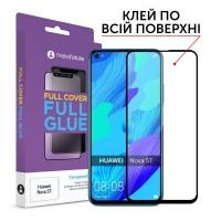 Стекло защитное MakeFuture Huawei Nova 5T Full Cover Full Glue (MGF-HUN5T). 45014