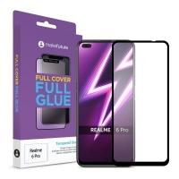 Стекло защитное MakeFuture Realme 6 Pro Full Cover Full Glue (MGF-R6P). 45020