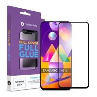 Стекло защитное MakeFuture Samsung M31s Full Cover Full Glue (MGF-SM31S). 45026