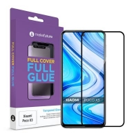 Стекло защитное MakeFuture Xiaomi Poco X3 Full Cover Full Glue (MGF-XPX3). 45030
