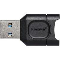 Считыватель флеш-карт Kingston USB 3.1 microSDHC/SDXC UHS-II MobileLite Plus (MLPM). 41806