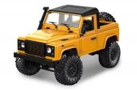 Машинка на радиоуправлении модель 1:12 MN Model Краулер D90 Defender полноприводный (желтый) 30021