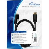 Кабель мультимедийный DVI to DisplayPort 2.0m Mediarange (MRCS131). 47340