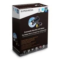 ТВ тюнер EvroMedia MacWin DVD Maker. 44411