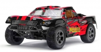 Машинка на радиоуправлении гоночный вездеход джип модель Шорт 1:8 Himoto Mayhem MegaE8SCL Brushless (красный) 29700