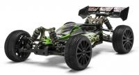 Машинка на радиоуправлении гоночный джип вездеход модель Багги 1:8 Himoto Shootout MegaE8XBL Brushless (зеленый) 29706