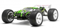 Машинка на радиоуправлении гоночный вездеход модель Трагги 1:8 Himoto Ziege MegaE8XTL Brushless (зеленый) 29703