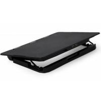 """Подставка для ноутбука Gembird 15"""", 2x125 mm fan, black (NBS-2F15-02). 41851"""