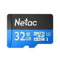 Карта памяти Netac 32GB microSD class 10 UHS-I U1 (NT02P500STN-032G-R). 44727