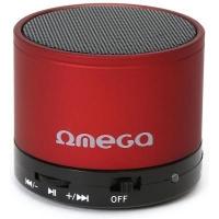 Акустическая система OMEGA Bluetooth OG47R red (OG47R). 44483