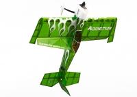 Самолёт на радиоуправлении набор Precision Aerobatics Addiction 1000мм KIT (зеленый) 30132