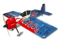 Самолёт на радиоуправлении набор Precision Aerobatics Addiction X 1270мм KIT (синий) 30134