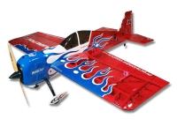 Самолёт на радиоуправлении набор Precision Aerobatics Addiction X 1270мм KIT (красный) 30133