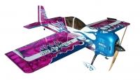 Самолёт на радиоуправлении набор Precision Aerobatics Addiction XL 1500мм KIT (фиолетовый) 30136