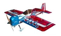Самолёт на радиоуправлении набор Precision Aerobatics Addiction XL 1500мм KIT (красный) 30135