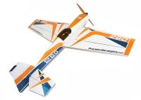 Самолёт на радиоуправлении набор Precision Aerobatics Extra 260 1219мм KIT (желтый) 30137