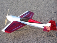 Самолёт на радиоуправлении Precision Aerobatics Katana Mini 1020мм KIT (красный). 30270