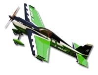 Самолёт на радиоуправлении набор Precision Aerobatics Extra MX 1472мм KIT (зеленый) 30140