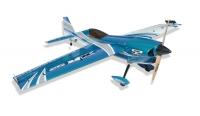Самолёт на радиоуправлении набор Precision Aerobatics XR-52 1321мм KIT (синий) 30147