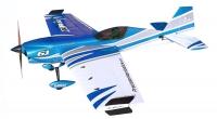 Самолёт на радиоуправлении набор Precision Aerobatics XR-61 1550мм KIT (синий) 30149