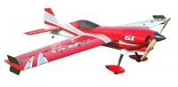 Самолёт на радиоуправлении набор Precision Aerobatics XR-61 1550мм KIT (красный) 30148