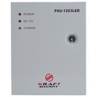 Блок питания для систем видеонаблюдения Kraft Energy PSU-1203LED. 47613