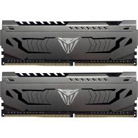 Модуль памяти для компьютера Patriot DDR4 8GB (2x4GB) 3200 MHz Viper Steel Gray (PVS48G320C6K). 42968