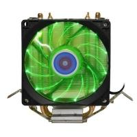 Кулер для процессора Cooling Baby R90 GREEN LED. 46689