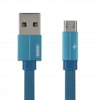 Дата кабель Remax USB 2.0 AM to Micro 5P 1.0m Kerolla blue (RC-094M1M-BLUE). 44323