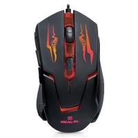 Мышка REAL-EL RM-520 Gaming, black. 42837