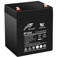 Батарея к ИБП Ritar AGM RT1245, 12V-4.5Ah, Black (RT1245B). 46576