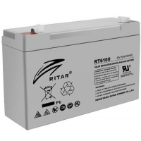 Батарея к ИБП Ritar AGM RT6100, 6V-10Ah (RT6100). 46577