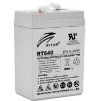 Батарея к ИБП Ritar AGM RT645, 6V-4Ah (RT640). 46580