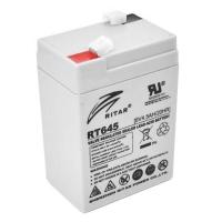 Батарея к ИБП Ritar AGM RT645, 6V-4.5Ah (RT645). 46550