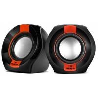 Акустическая система REAL-EL S-50 black-red. 44493