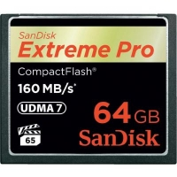 Карта памяти SanDisk Compact Flash Card 64Gb Extreme PRO (SDCFXPS-064G-X46). 44751