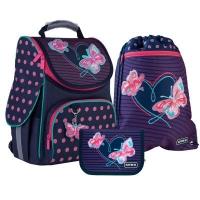 Рюкзак школьный Kite Butterflies 501 Набор (SET_K21-501S-3). 45789
