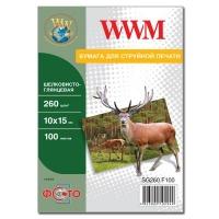 Бумага WWM 10x15 (SG260.F100). 48685