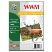 Бумага WWM 10x15 (SG260.F50). 48687