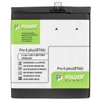 Аккумуляторная батарея для телефона PowerPlant Meizu Pro 6 Plus (BT66) 3300mAh (SM210084). 44870